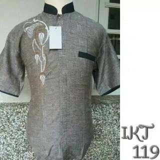 Java Seven ALY 318 Baju Koko Pria Cotton Menarik (Abu). Source · Freongkir Baju Koko Pria Jumbo