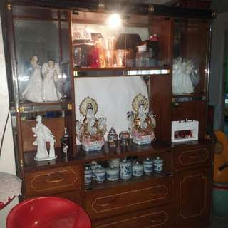 TV Entertainment Cabinet with Light