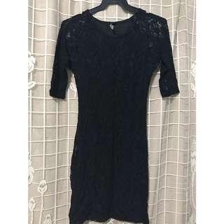 Pre-loved Black Dress