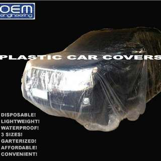 OEM Engineering Disposable Plastic Car Cover