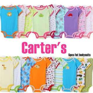 5pcs Carter's Baby Boy Romper