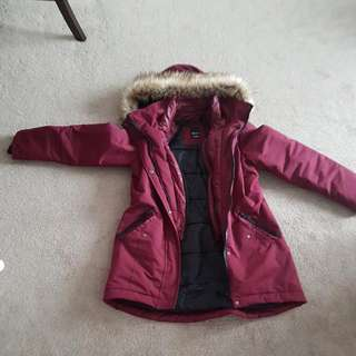 Reitmans Winter Coat Size M
