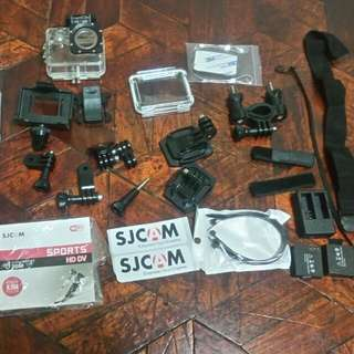 SJCAM Sj4000 Action Camera Plus 2 Battery And Charging Dock