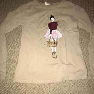 Zara Kids Long Sleeve Top