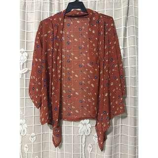 Pre-loved Kimono Top