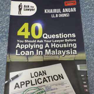 House Loan Financing Book