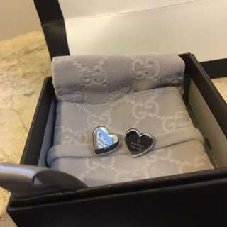 Gucci Authentic Heart Studs