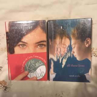 YOUNG ADULT HARDCOVERS (+ADDITIONAL WATERPROOF COVERS) ENGLISH