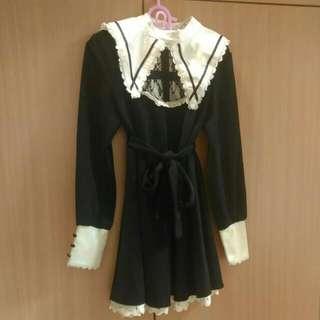歌德式修女洋裝