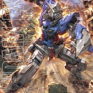 bandai MG 1/100 Gundam Exia 鋼彈 能天使 組合模型 00 萬代