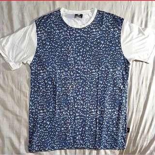 Blue Leopard Shirt