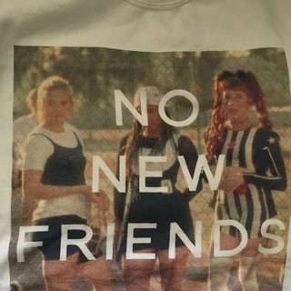 Untitled&Co. No New Friends Sweater
