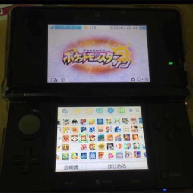 3DS 已改A9 附64g記憶卡 初代