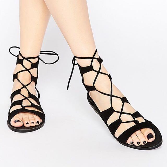 英國品牌羅馬涼鞋