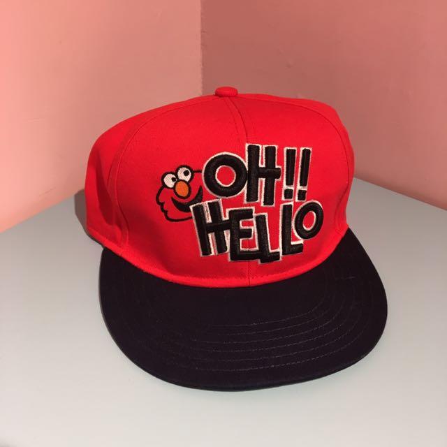 👉正版 日本環球影城 Elmo棒球帽👈