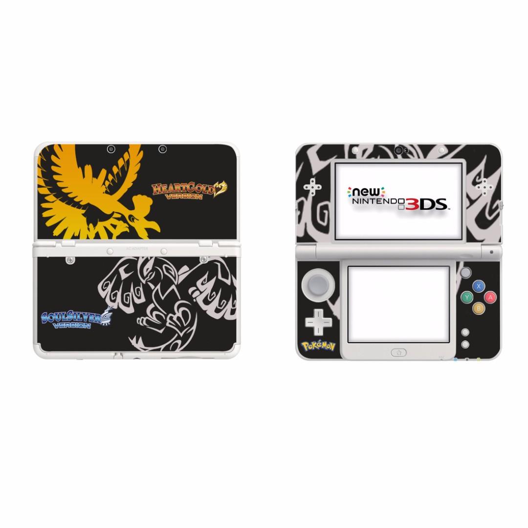 全新 Pokemon New Nintendo 3DS 保護貼 有趣貼紙 全包主機4面