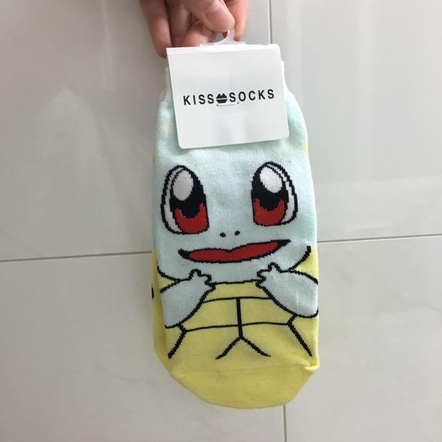 傑尼龜 Q版襪