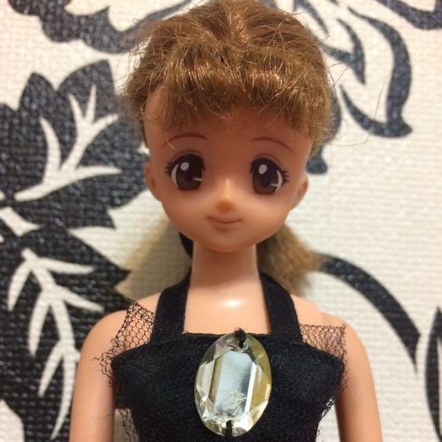日本 TAKARA AGIS Jenny Lilian 莉莉安 收藏娃娃 二手娃娃