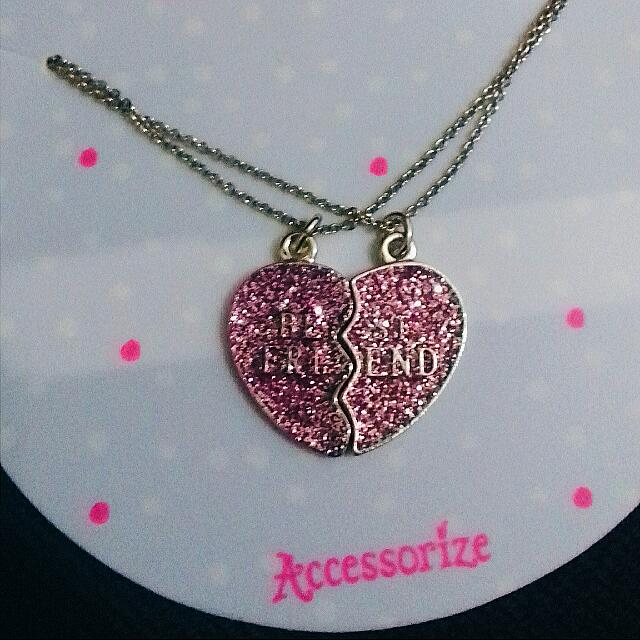 Accessorize Best Friend Necklace