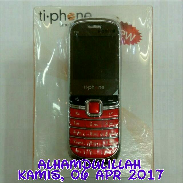 Alhamdulillah, 06 Apr 2017 TiPhone T20, Mobile Phones & Tablets on Carousell