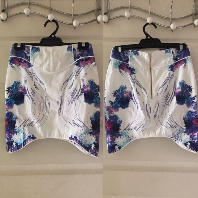 Aquatic Mirage Skirt