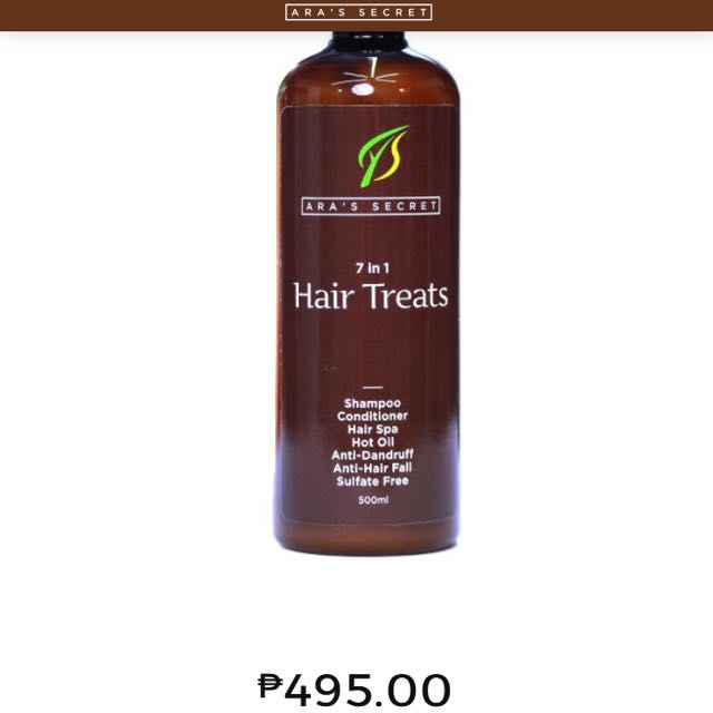 Ara's Secret 7 In 1 Hair Treats
