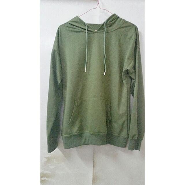 Army Green Pull Over