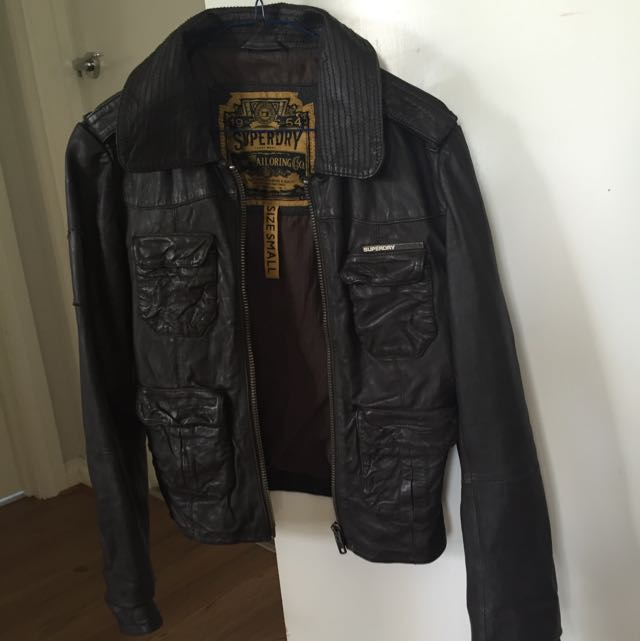 Authentic Super Dry Leather Jacket