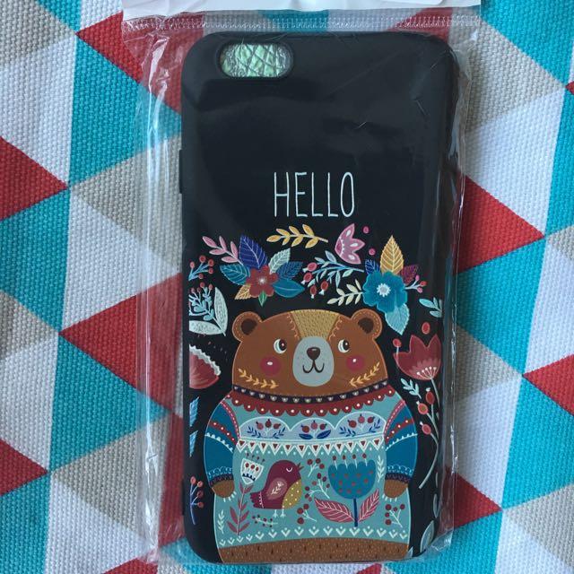 BEAR CASE ( Iphone 6 )