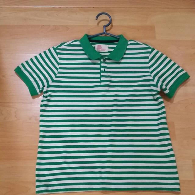 BENCH Striped Polo Shirt For Teens