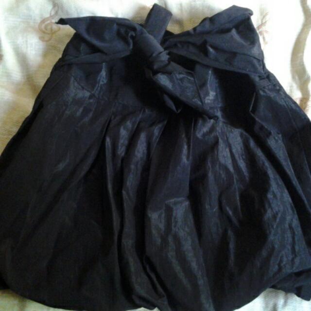 Black Bubble Skirt