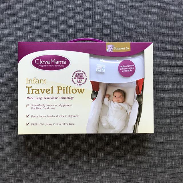 BNIB Cleva Mama Infant Pillow / Travel Pillow