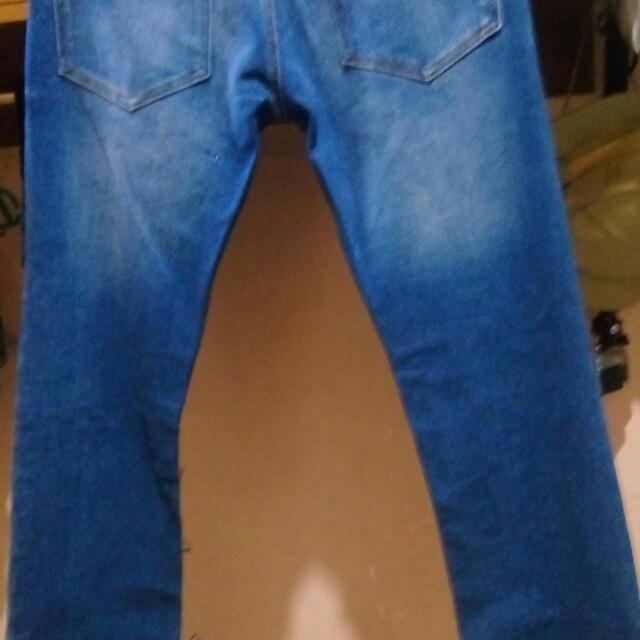 Brandnew Code Blue Slim Fit Denim Pants Stretched Size 34