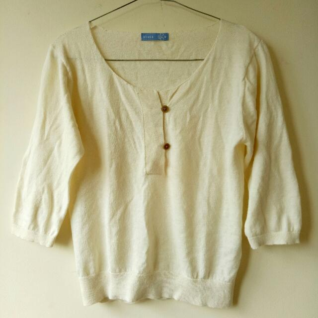 Broken White Cardigan