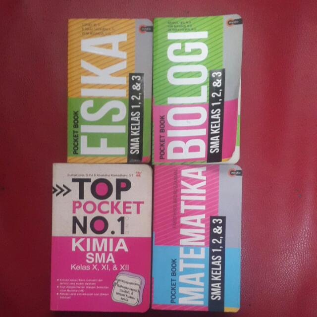 Buku Rumus Pocket Book Top Pocket SMA