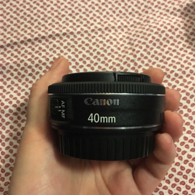 Canon 40mm Lens