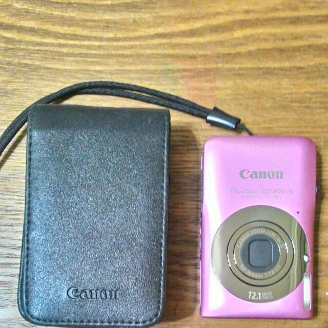 Canon 粉紅色數位相機