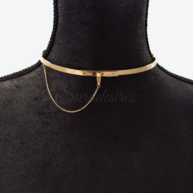 CHOKER - Gold And Rose Gold
