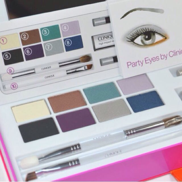 Clinique Party Eyes Makeup Set