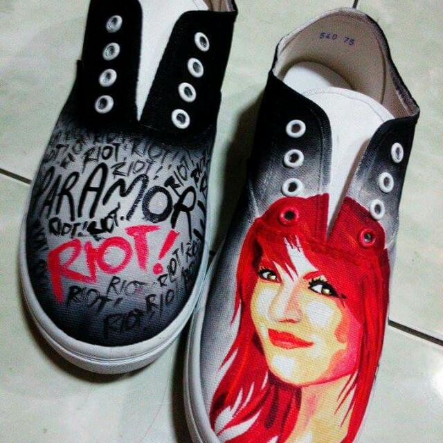 Customized Paramore Shoes