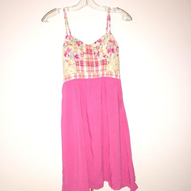 Cute Pink Dress Size M