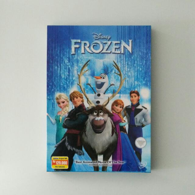 Walt Disney's Frozen DVD