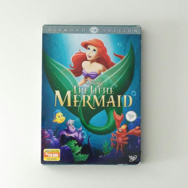 Walt Disney's The Little Mermaid DVD Diamond Edition