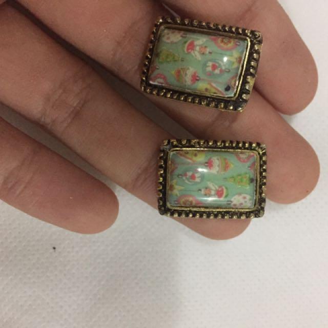 Earrings Made In Singapore - Jual Per Pasang