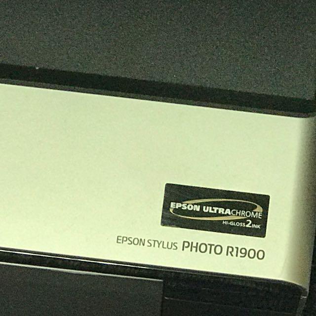 EPSON 噴墨彩色印表機 A3 R1900