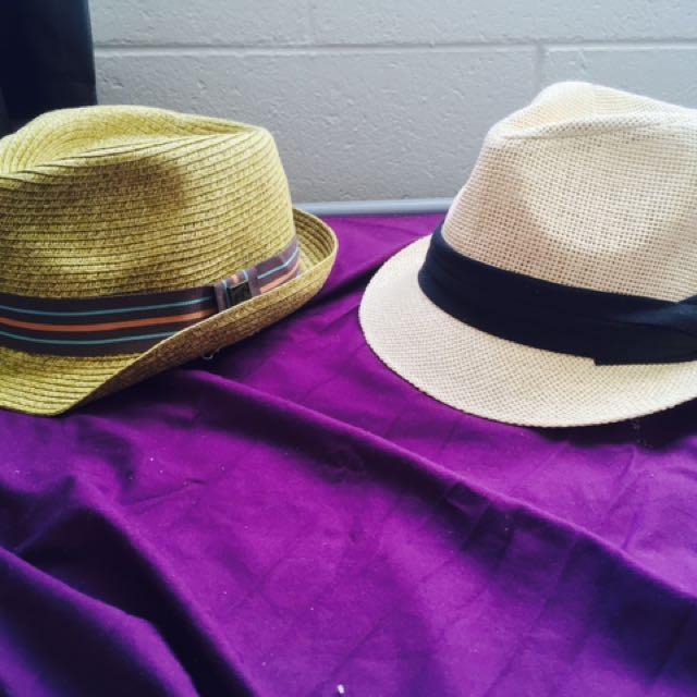 Fedora Style Hats