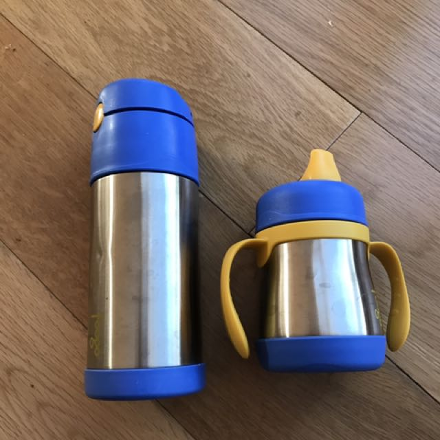 Foogo Thermos And Drink Bottle Set