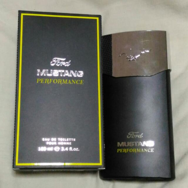 Authentic Ford Mustang Performance Perfume
