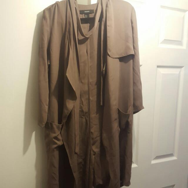 REDUCED *Forever21 Thin Duster Jacket Size small/Medium