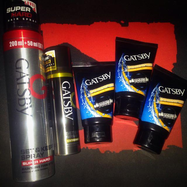 Gatsby Super Hard And Skin Tonic